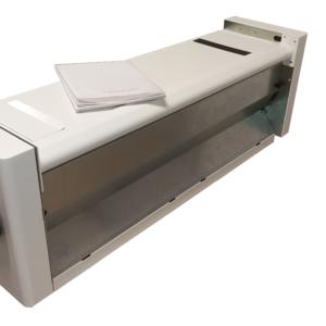 PFM 205 con foglio piegato a formato A4