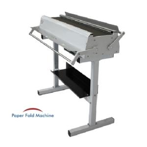 manual map folding machine