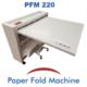 PFM 220 Plieuse